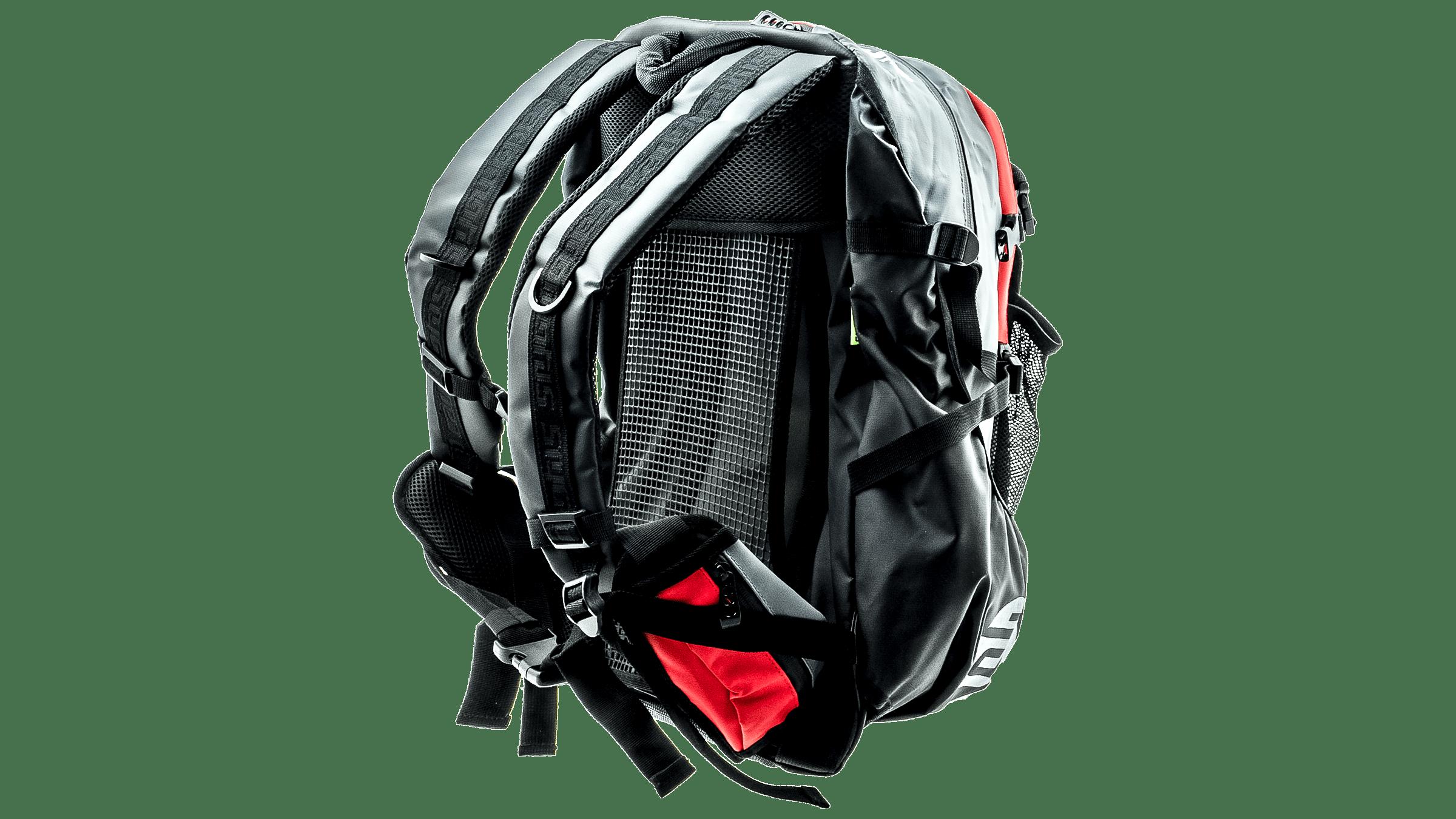7210865f63e CadoMotus Waterflow gear skate skeeler bag - red/grey bestellen bij ...