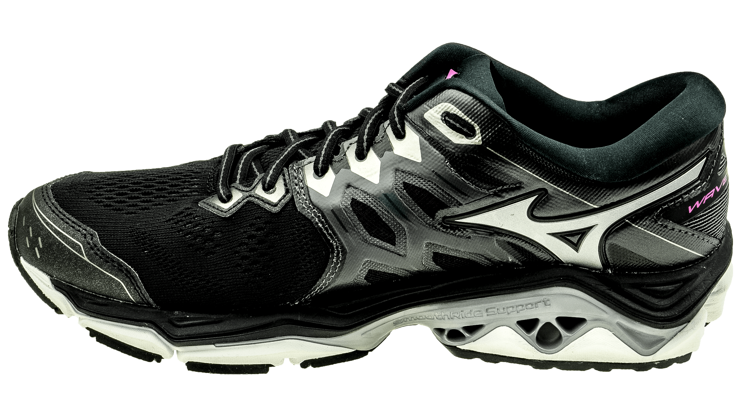 Mizuno Wave Horizon 3 black metallic shadow super pink bestellen bij ... 0d319c5ef31