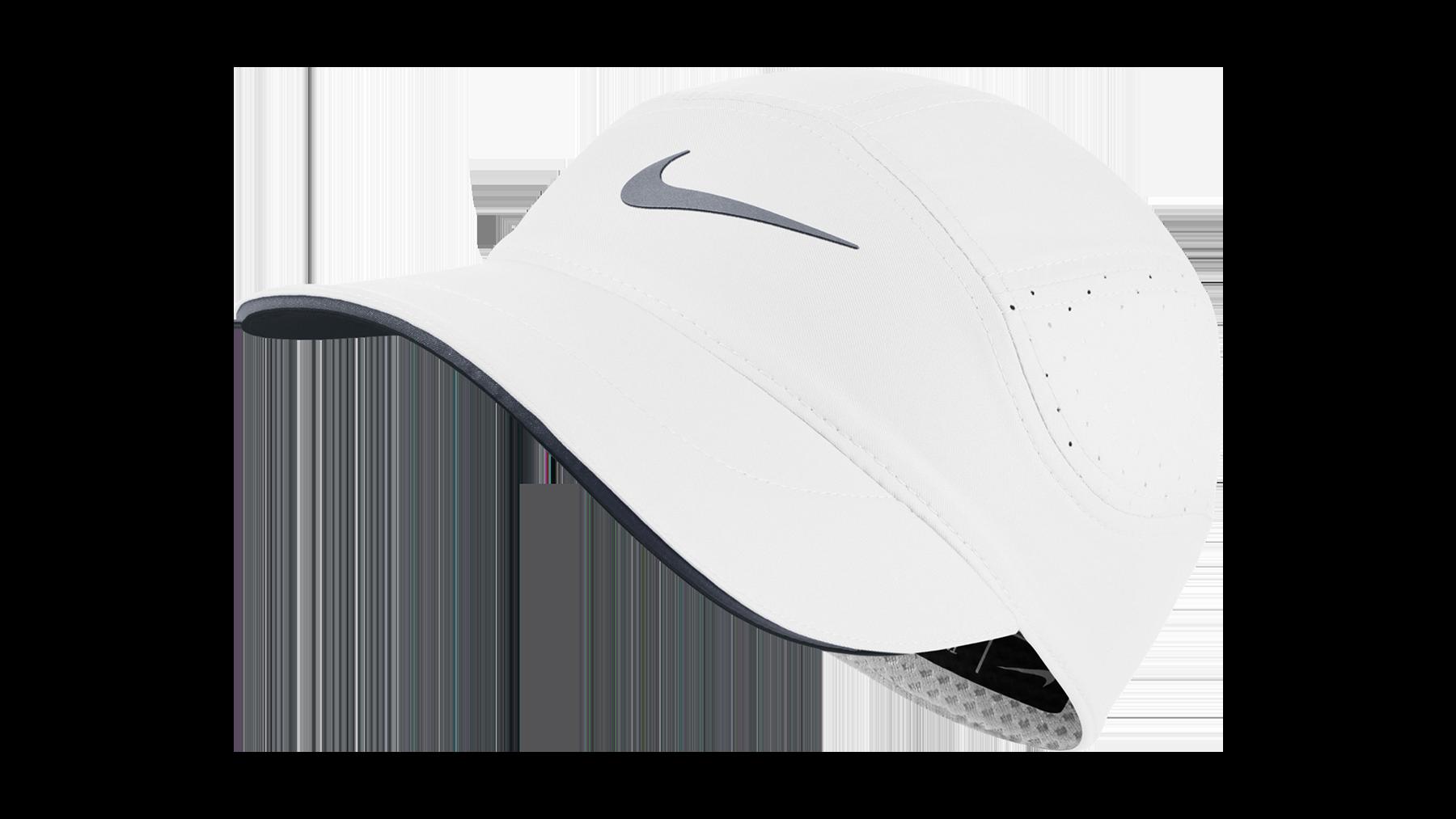 Nike Women s Dri-Fit AeroBill running cap  white cool grey ... 80dcf645c74