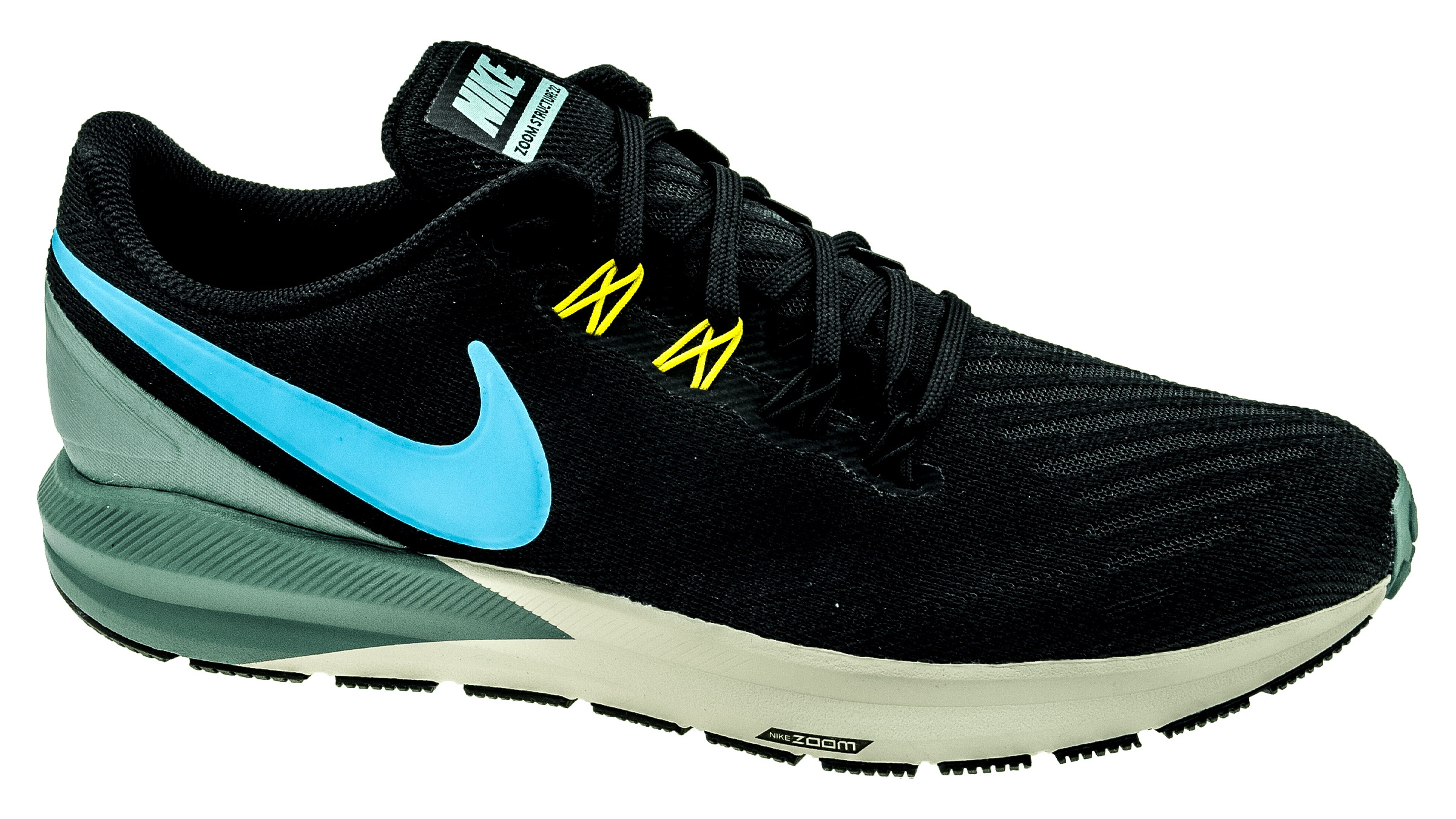 new arrival 1eb5b 8ea8b Nike Air Zoom Structure 22 black/blue fury/aviator grey