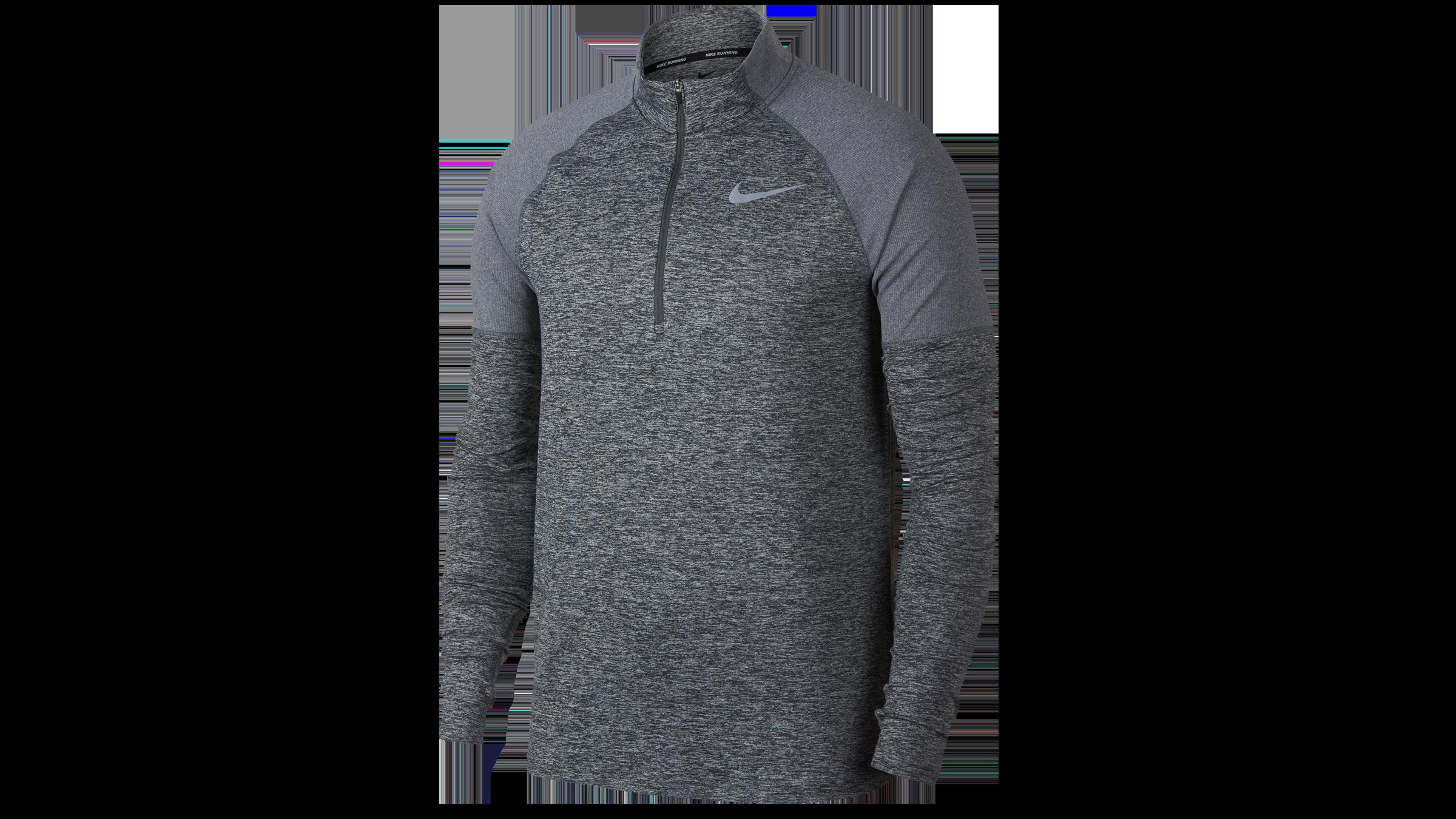7b90abe74aec3 Nike Men's Element running top 1/2 zip [dark grey] bestellen bij ...