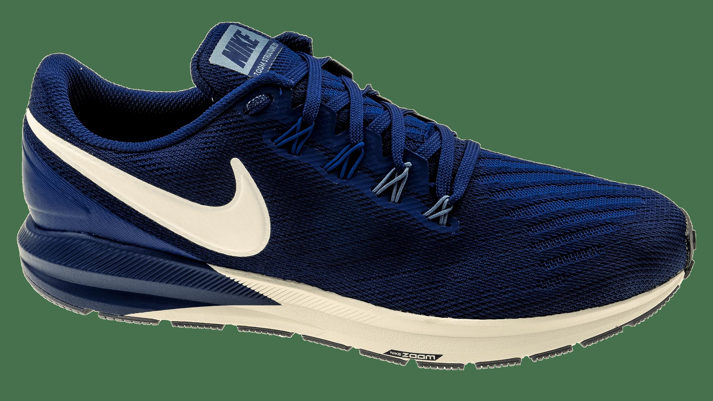 new product 4d262 e8d59 Nike Air Zoom Structure 22 blue voidvast greygym blue bestellen bij  Skate-dump.nl