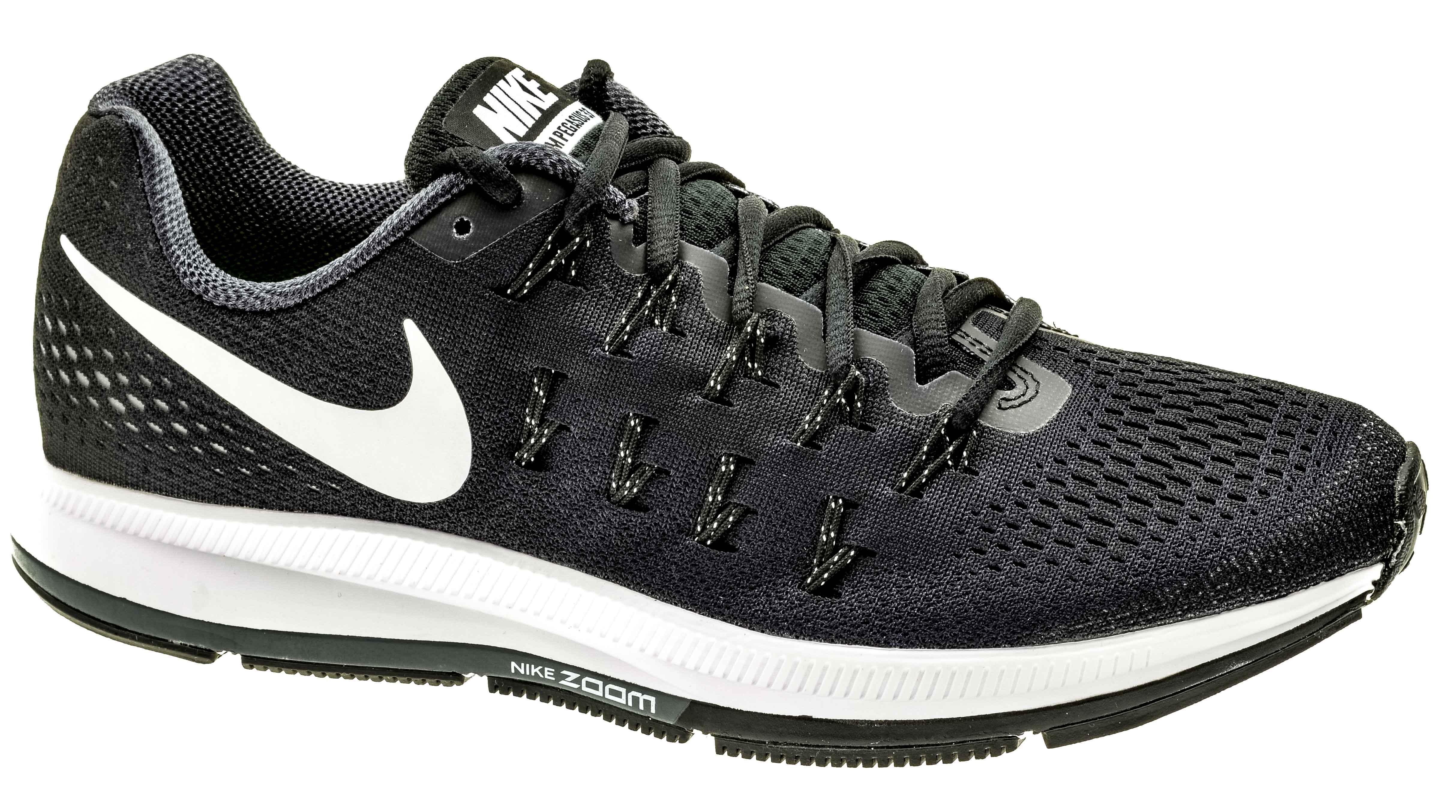 Nike Air Zoom Pegasus 33 black white anthracite cool grey