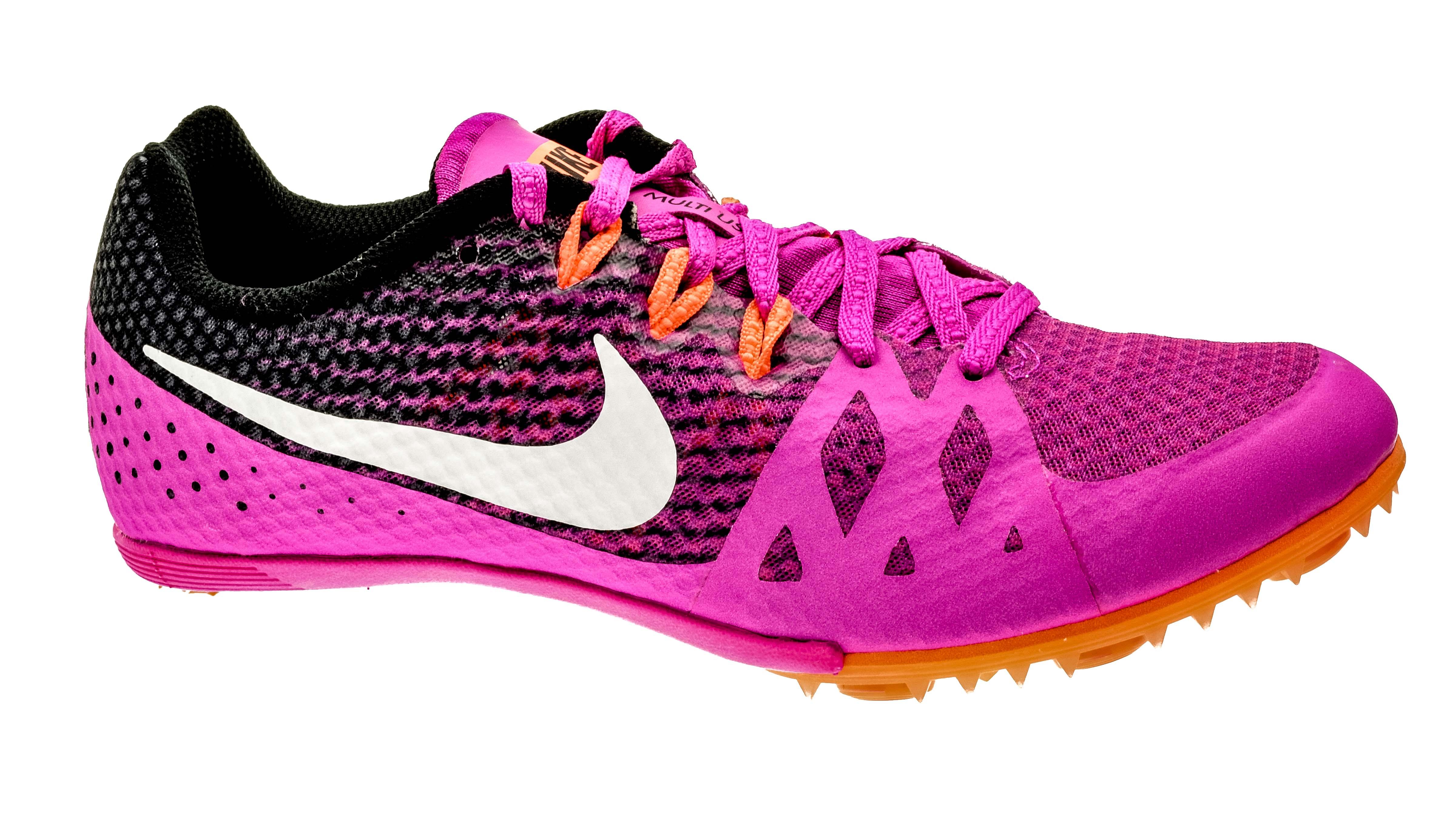 more photos 43f66 d9bef Nike Zoom Rival M8 spikes fire-pinkwhite-black unisex bestellen bij  Skate-dump.nl