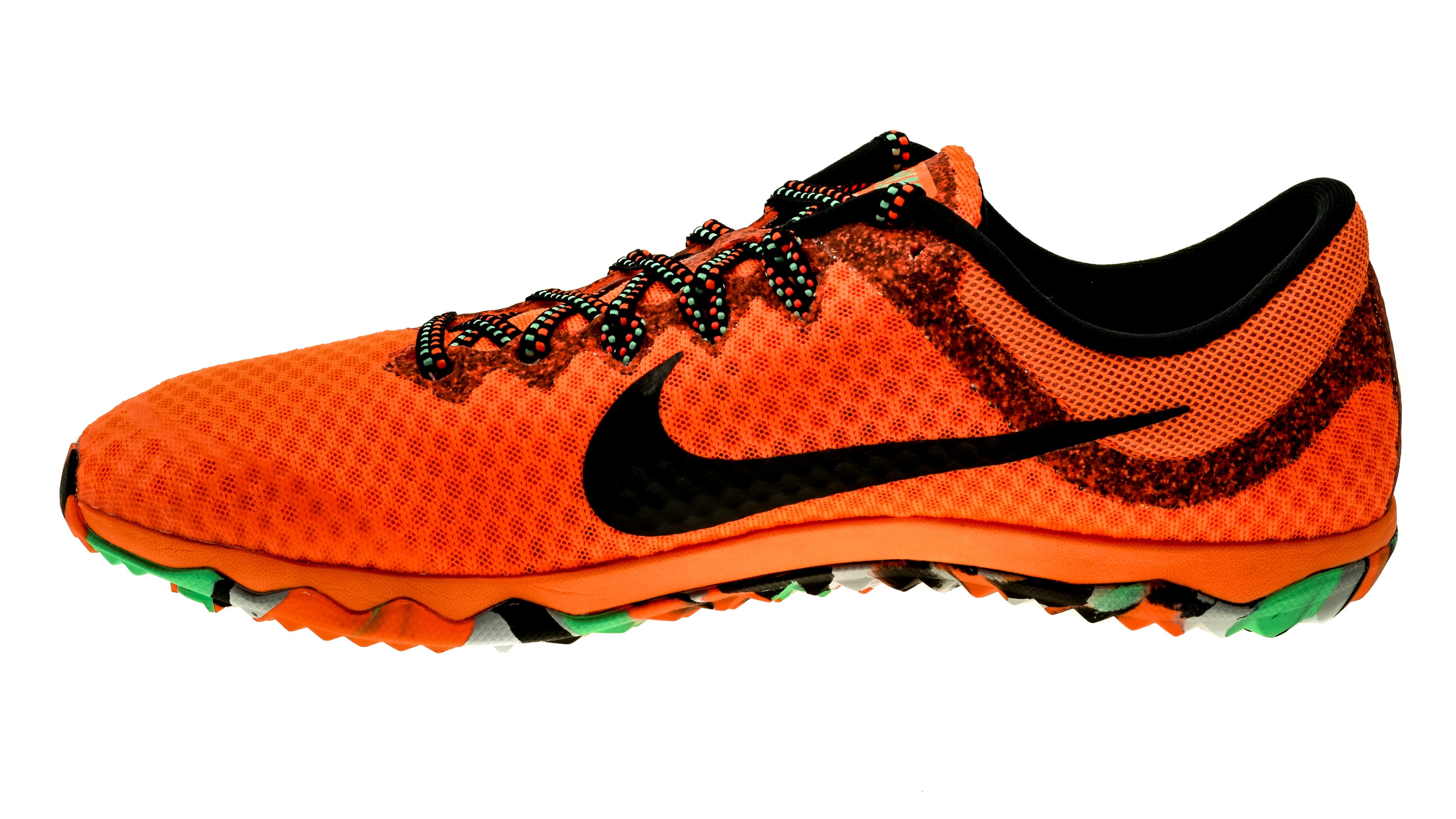 buy online dcfea 44c8d NikeZoom Rival XC black-green total-orange  unisex