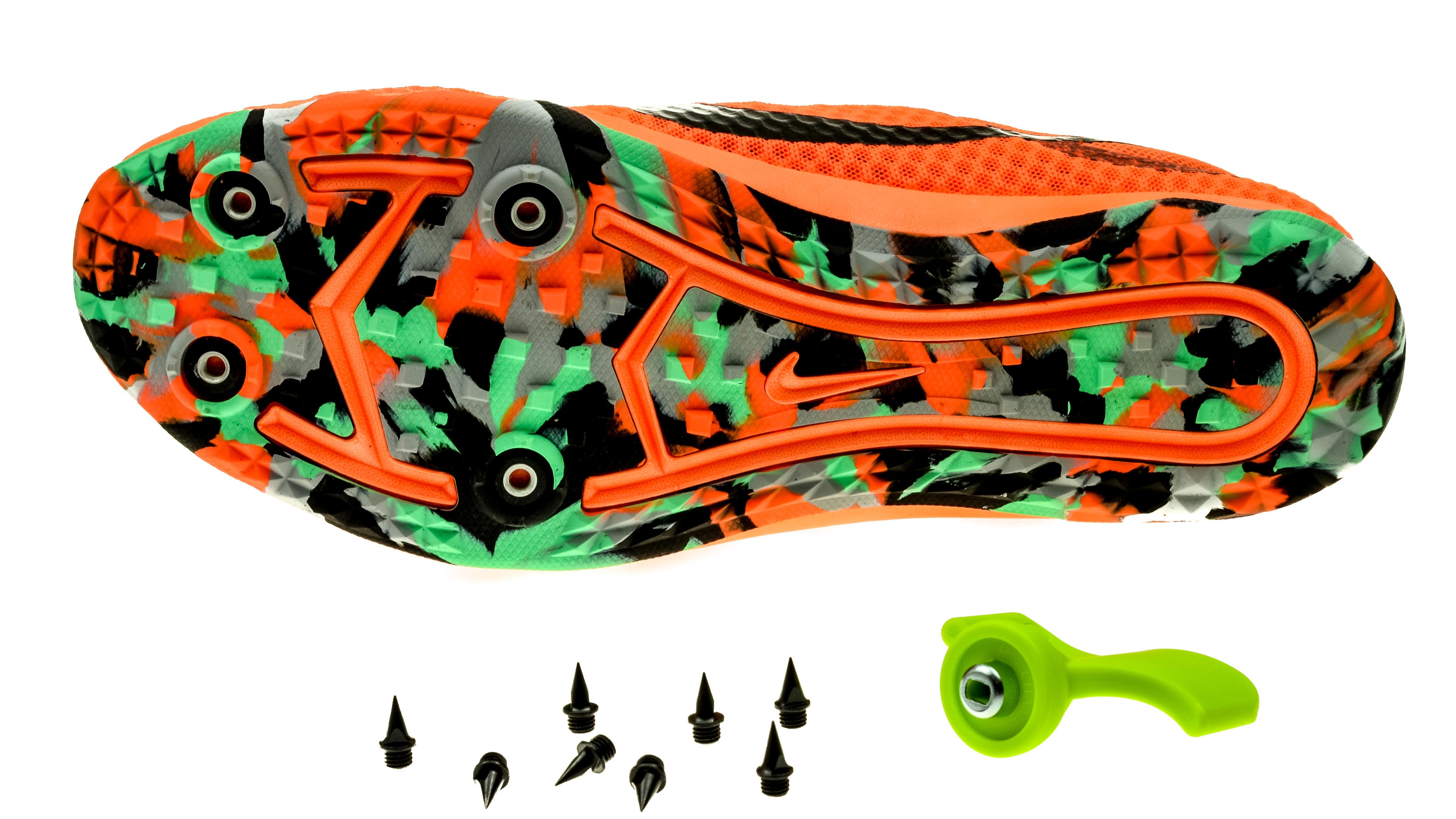 best service fe963 16ad5 NikeZoom Rival XC black-greentotal-orange unisex