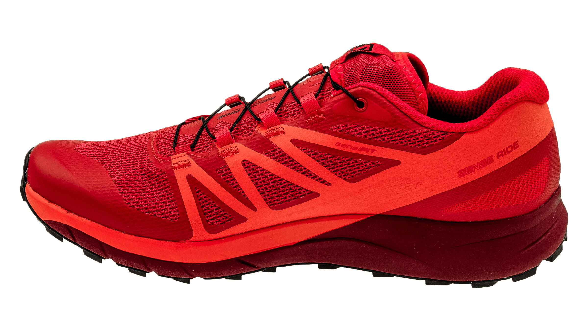 new product 83300 7e5f5 Salomon Sense Ride Fiery Red/Scarlet Ibis/Red Dalhia