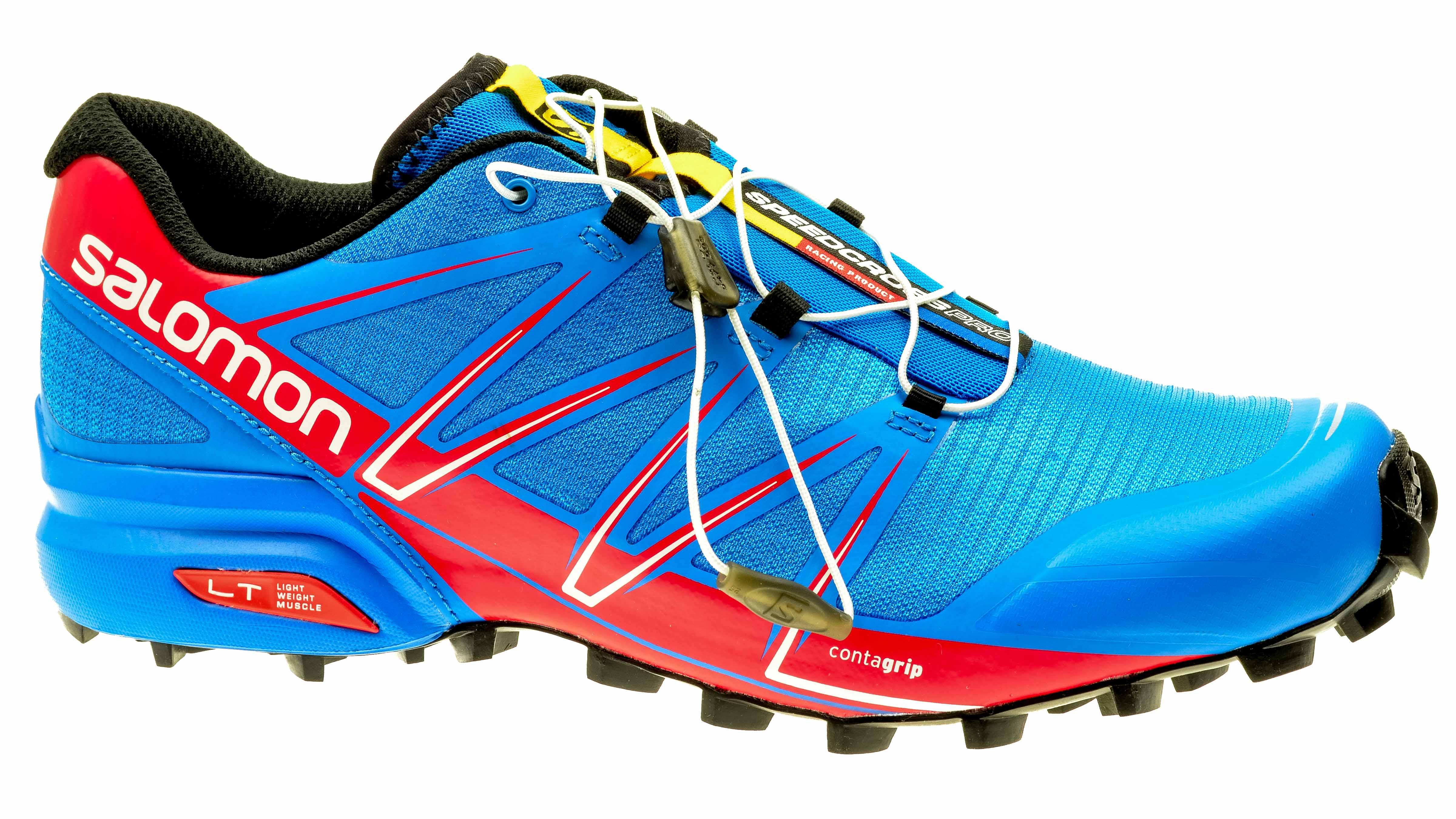 design de qualité 31dd9 9b4cb Salomon Speedcross PRO bright-blue/radiant-red/black
