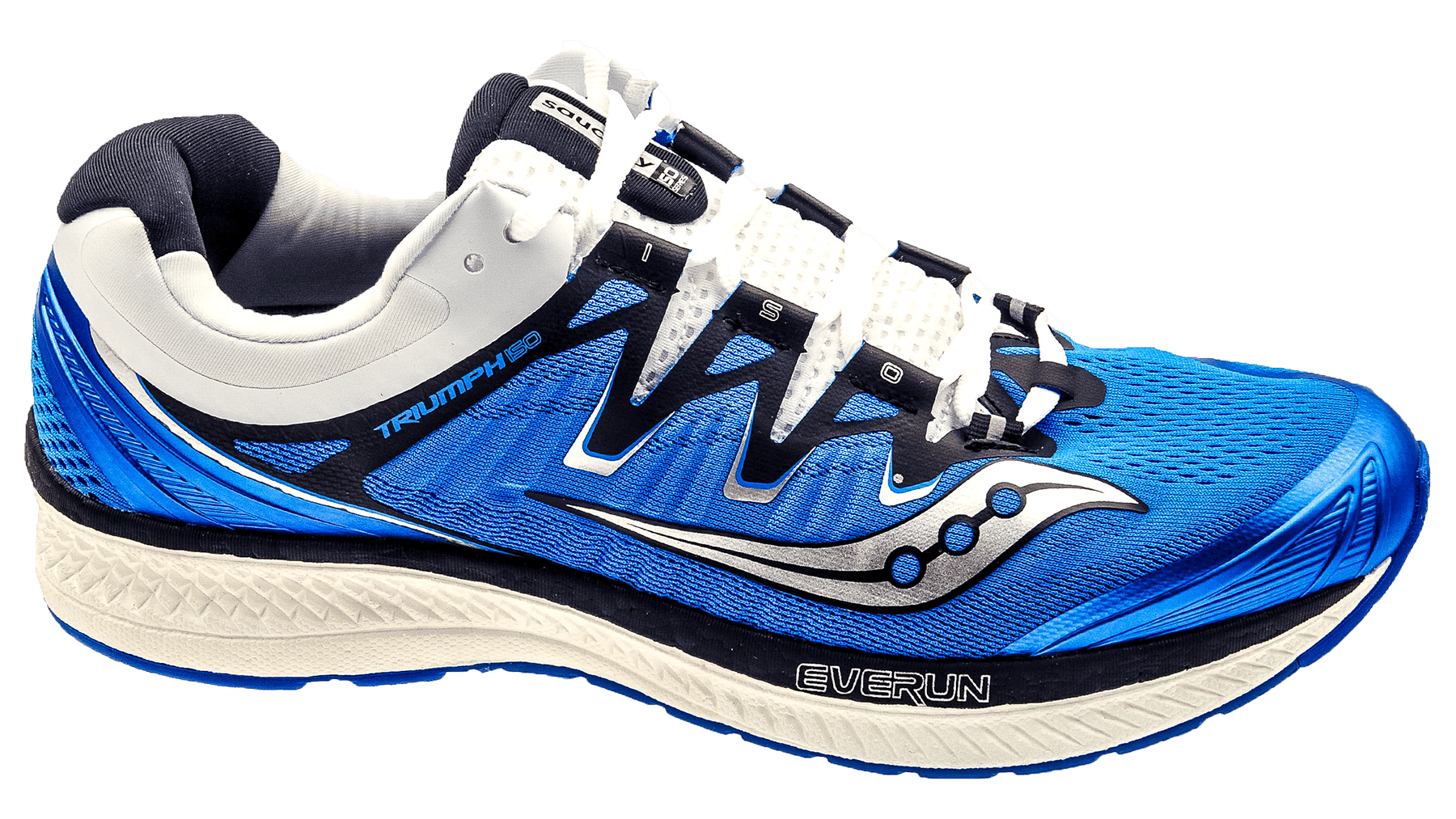 brand new 82eac 93314 SauconyTriumph ISO 4 blue black white
